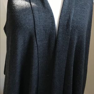 Eileen Fisher merino wool vest.